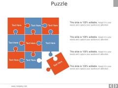 Puzzle Ppt PowerPoint Presentation Slides Demonstration
