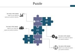 Puzzle Ppt PowerPoint Presentation Slides Icon