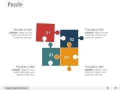 Puzzle Ppt PowerPoint Presentation Slides