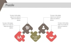 Puzzle Ppt PowerPoint Presentation Styles Background Image