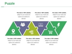 Puzzle Ppt PowerPoint Presentation Styles Deck