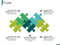 Puzzle Ppt PowerPoint Presentation Summary Icons