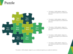 Puzzle Ppt PowerPoint Presentation Summary Sample