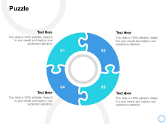 Puzzle Ppt PowerPoint Presentation Summary Show