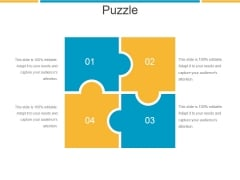 Puzzle Ppt PowerPoint Presentation Summary