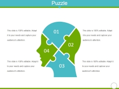 Puzzle Ppt PowerPoint Presentation Summary Visual Aids