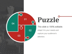 Puzzle Ppt PowerPoint Presentation Visual Aids Gallery