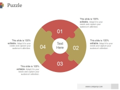 Puzzle Ppt PowerPoint Presentation Visual Aids