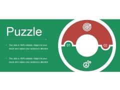 Puzzle Ppt PowerPoint Presentation Visual Aids Slides