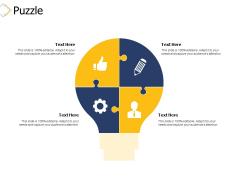Puzzle Problem Ppt PowerPoint Presentation Infographic Template