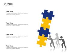 Puzzle Problem Ppt PowerPoint Presentation Styles Templates