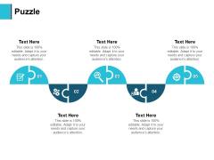 Puzzle Problem Solution Ppt PowerPoint Presentation File Backgrounds
