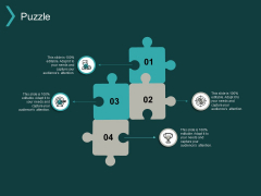 Puzzle Problem Solution Ppt PowerPoint Presentation Gallery Template