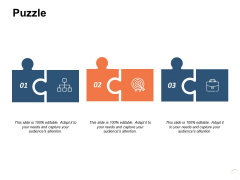Puzzle Problem Solution Ppt PowerPoint Presentation Icon Objects