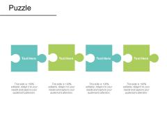 Puzzle Problem Solution Ppt PowerPoint Presentation Ideas Information