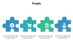 Puzzle Problem Solution Ppt PowerPoint Presentation Infographics Master Slide