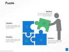 Puzzle Problem Solution Ppt PowerPoint Presentation Infographics Shapes