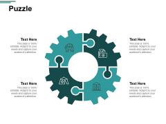 Puzzle Problem Solution Ppt PowerPoint Presentation Inspiration Slide