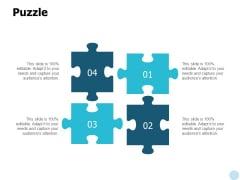 Puzzle Problem Solution Ppt PowerPoint Presentation Model Infographics