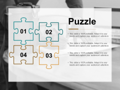 Puzzle Problem Solution Ppt Powerpoint Presentation Model Template