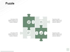 Puzzle Problem Solution Ppt PowerPoint Presentation Outline Examples