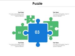Puzzle Problem Solution Ppt PowerPoint Presentation Pictures Model
