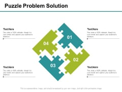 Puzzle Problem Solution Ppt PowerPoint Presentation Professional Slides