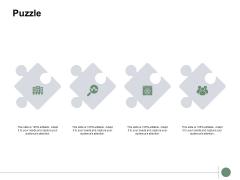 Puzzle Problem Solution Ppt PowerPoint Presentation Styles Portrait