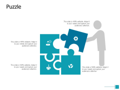 Puzzle Problem Solution Ppt Powerpoint Presentation Styles Themes