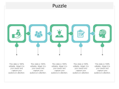 Puzzle Problem Solution Ppt Powerpoint Presentation Summary Display