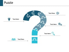 Puzzle Problem Solution Ppt Powerpoint Presentation Summary Graphics