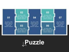 Puzzle Problem Solution Strategy Ppt PowerPoint Presentation Portfolio Visuals