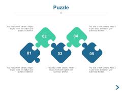 Puzzle Problem Solving Ppt PowerPoint Presentation Infographic Template Portrait