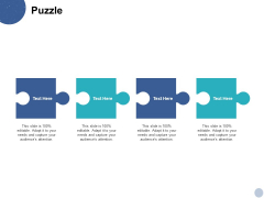 Puzzle Solution Ppt PowerPoint Presentation Guide