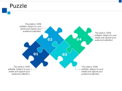 Puzzle Solution Ppt PowerPoint Presentation Show