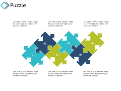 Puzzle Strategy Planning Ppt PowerPoint Presentation Gallery Slide