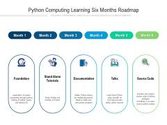 Python Computing Learning Six Months Roadmap Background