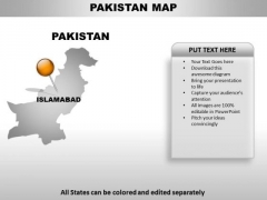 Pakistan Country PowerPoint Maps