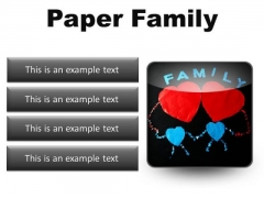 Paper Family Abstract PowerPoint Presentation Slides S