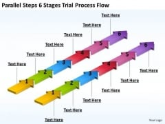 Parallel And Distributed Processing Flow PowerPoint Templates Ppt Backgrounds For Slides