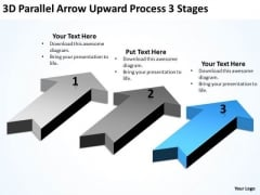 Parallel Data Processing 3 Stages Ppt PowerPoint Templates Backgrounds For Slides