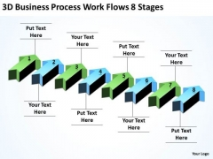 Parallel Data Processing Work Flows 8 Stages PowerPoint Templates Ppt Backgrounds For Slides
