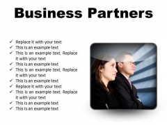 Partners Looking For Success PowerPoint Presentation Slides S