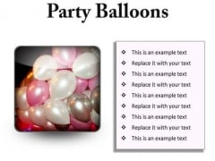 Party Balloons Festival PowerPoint Presentation Slides S