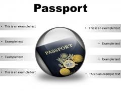 Passport Vacation PowerPoint Presentation Slides C