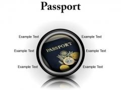 Passport Vacation PowerPoint Presentation Slides Cc