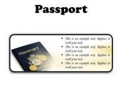 Passport Vacation PowerPoint Presentation Slides R