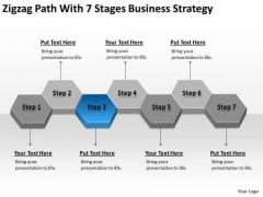 Path With 7 Stages Business Expansion Strategy Top Plan Software PowerPoint Slides
