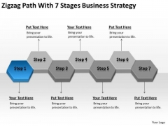 Path With 7 Stages Corporate Business Strategy Ppt Import Export Plan PowerPoint Slides