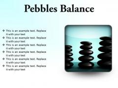 Pebbles Balance Metaphor PowerPoint Presentation Slides S